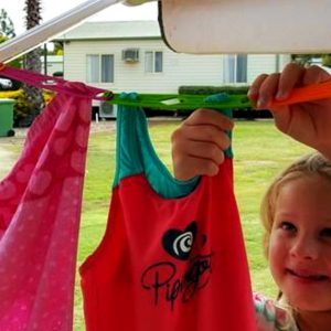 Slide n' Dry Pegless Clotheslines